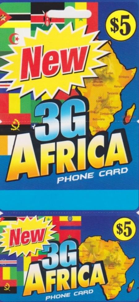 3G Africa New York $5