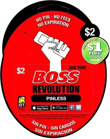 Boss Revolution $2 NY