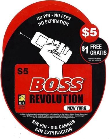 Boss Revolution NY $5