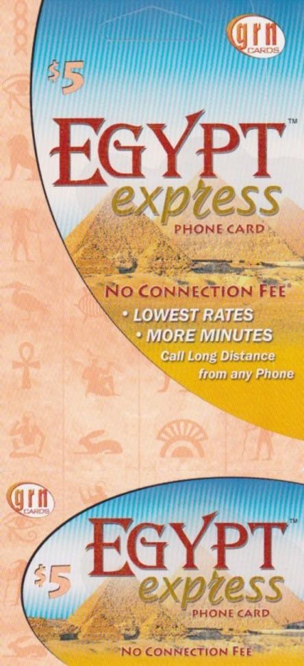 Egypt Express $5
