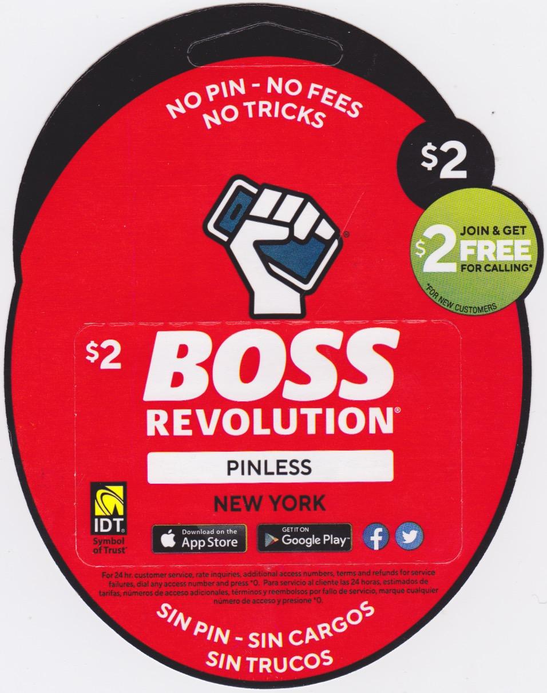 Boss Revolution NY $2