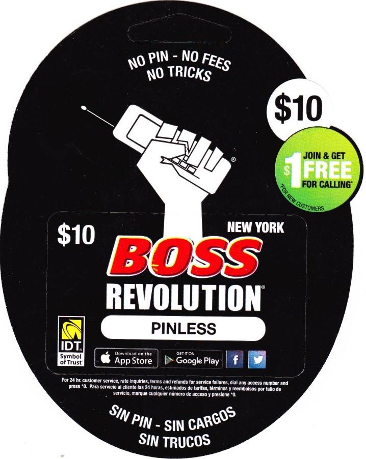Boss Revolution NY $10